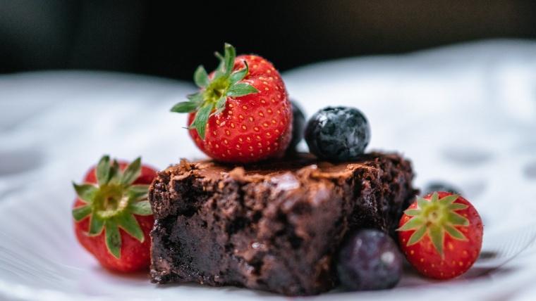 Paleo brownie fehérjeporral